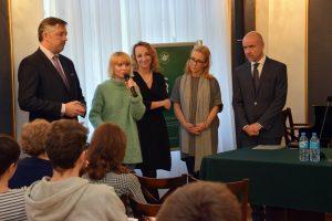 Anna Włodarczyk - koordynatorka Centrum Pro Bono, fot. Biuro Prasowe ORA