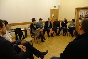 Spotkanie z Rzecznikiem Praw Obywatelskich dr Adamem Bodnarem, podczas którego wsparcia prawnego udzielała kancelaria Polowiec i Wspólnicy